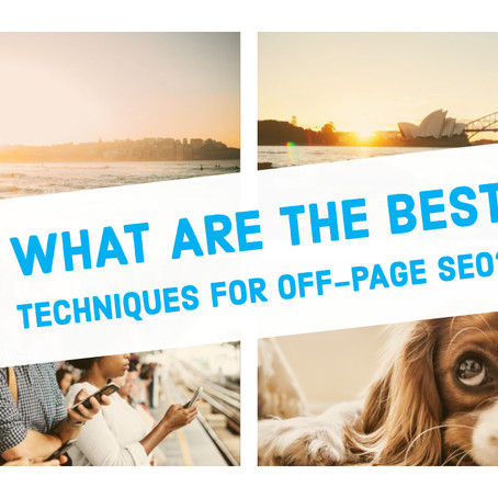 What are the best techniques for off-page SEO?