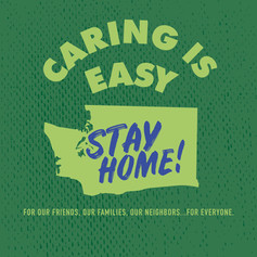 Caring Is Easy WA Green