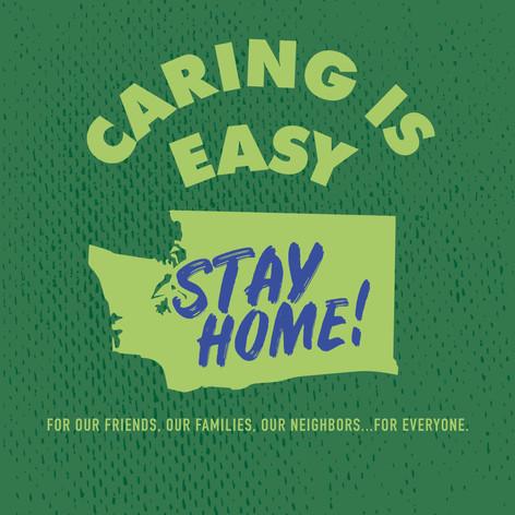 Caring Is Easy WA Green