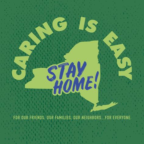 Caring Is Easy NY Green