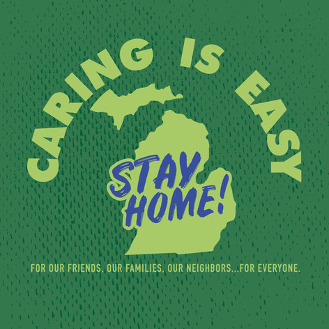 Caring Is Easy MI Green