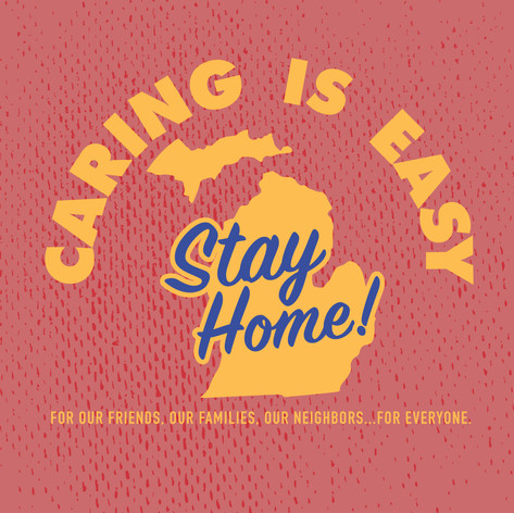 Caring Is Easy MI Red
