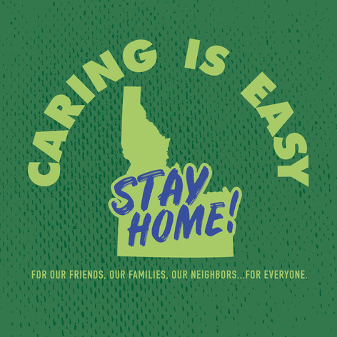 Caring Is Easy ID Green