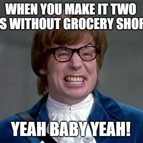 Two Weeks of Groceries