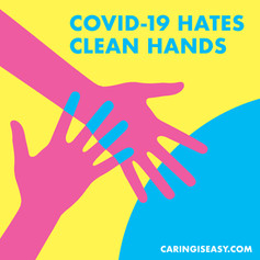Covid Hates Clean Hands