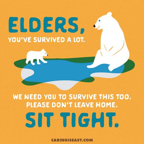 Elders Sit Tight Orange