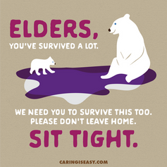 Elders Sit Tight Tan