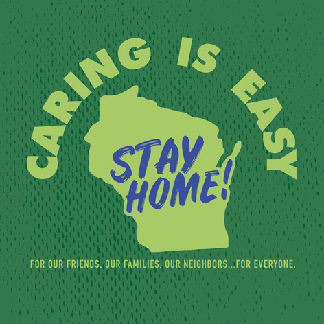 Caring Is Easy WI Green