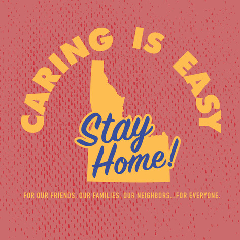 Caring Is Easy ID Red