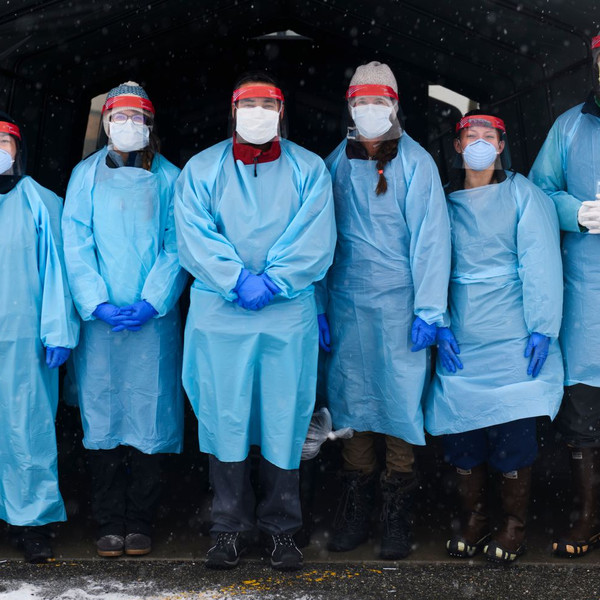 'We gotta help one another': Portraits from the front line of coronavirus detection in Anchorage