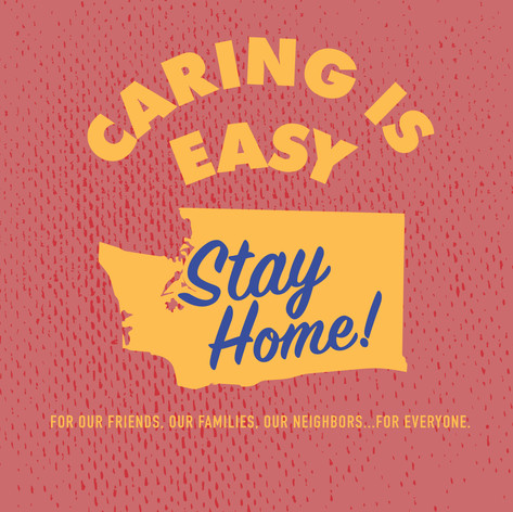 Caring Is Easy WA Red
