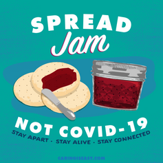 Spread Jam Teal