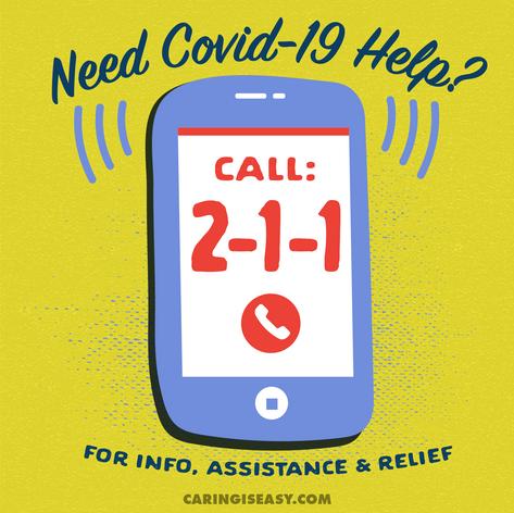 Call 211 Yellow