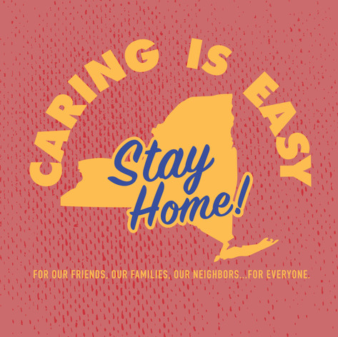 Caring Is Easy NY Red