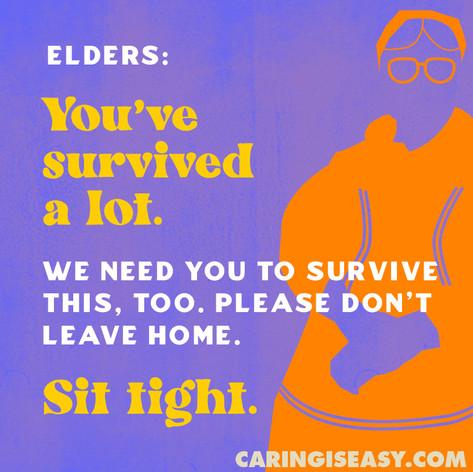 Elders Purple