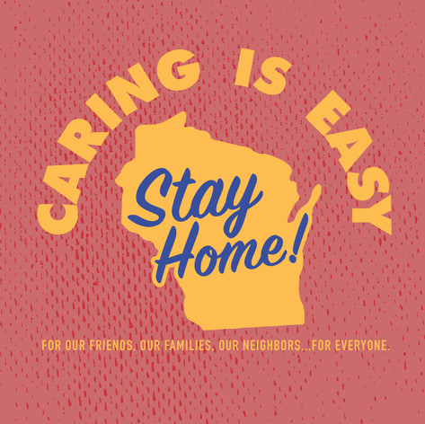 Caring Is Easy WI Red