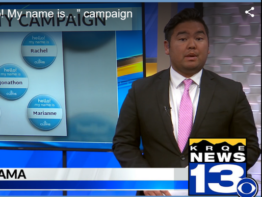 """KRQE FEATURES """"HELLO! MY NAME IS ..."""" CAMPAIGN"""