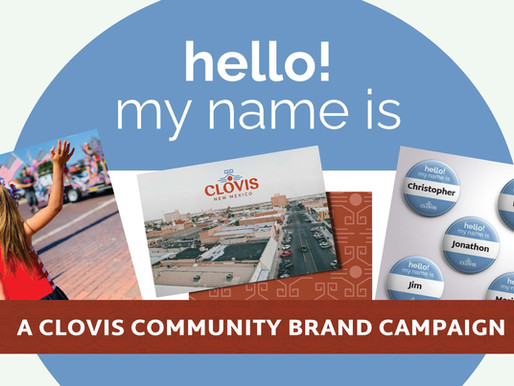 """CLOVIS, NEW MEXICO UNVEILS """"hello! my name is ..."""" CAMPAIGN"""