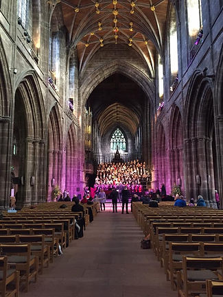 I Will Know Premiere Performance at Chester Cathedral