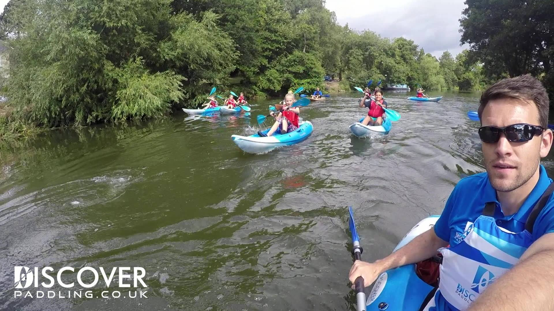 Discover Paddling 1-2-3 course Summer 2018