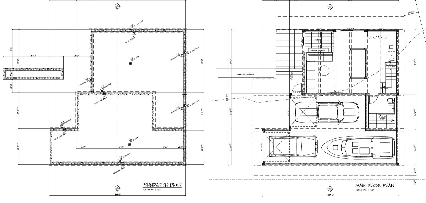 Intial Planning + Design