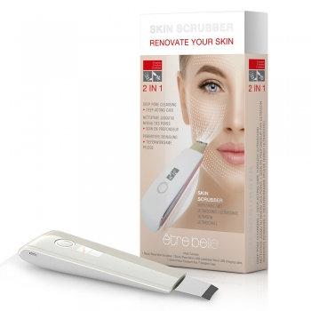 Time Control Ultrasonic Skin Scrubber