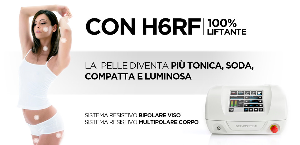 H6RF Radiofrequenza BBM Esthetique