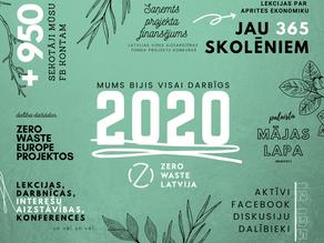 Paldies par 2020, tiekamies 2021!