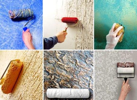 Резиновая краска для фактурной штукатурки