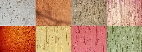 выкрасы фасадной краски на бетоне