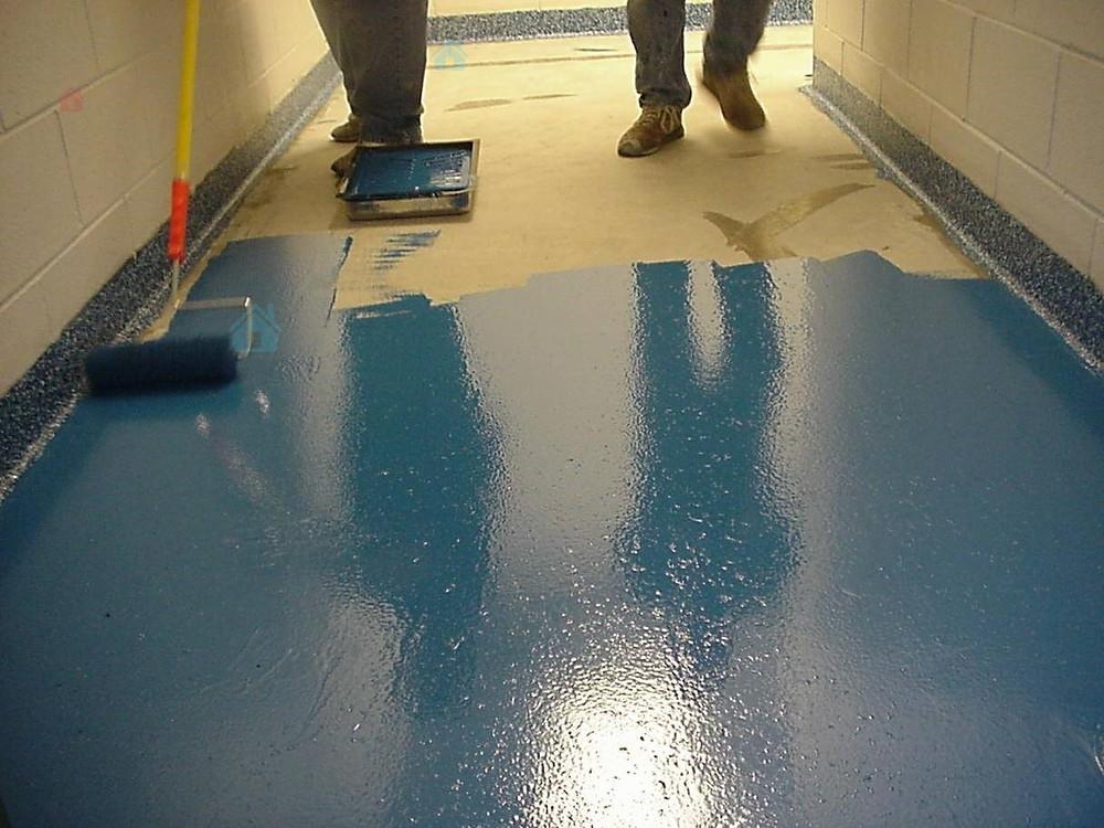 резиновая краска для бетонного пола