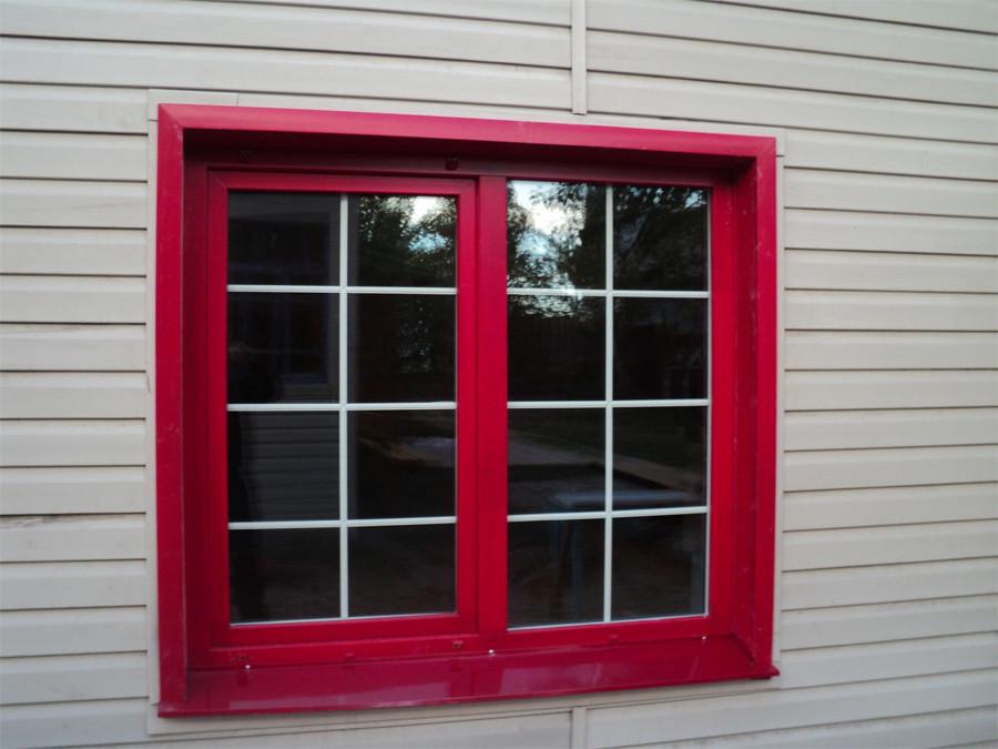 покрашенное пластиковое окно резиновой краской супер декор