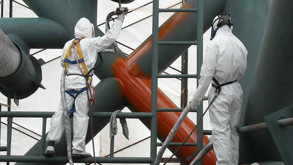 резиновая краска для металлических конструкции