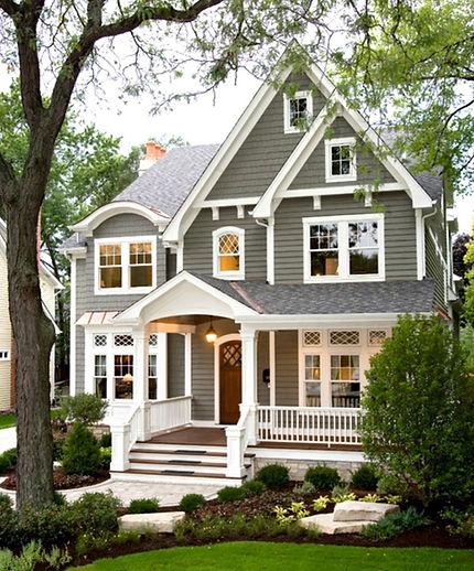 Покрашенный дом  Резиновой краской  Super Decor-Rubber
