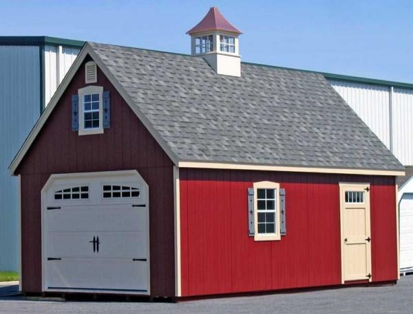 покрашенный гараж резиновой краской