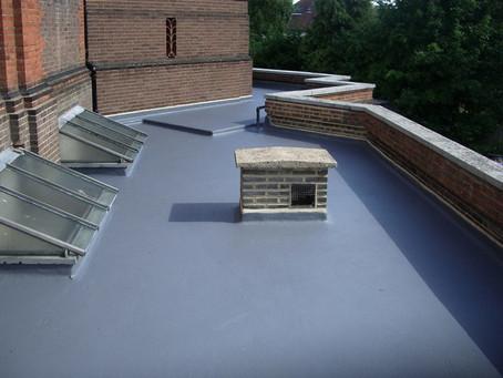 Краска для бетонной крыши. Какую краску выбрать для покраски плоской кровли?