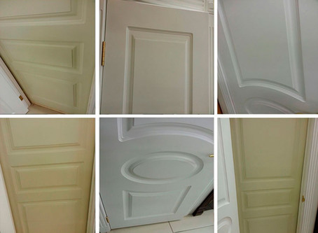 Резиновая краска для деревянных дверей