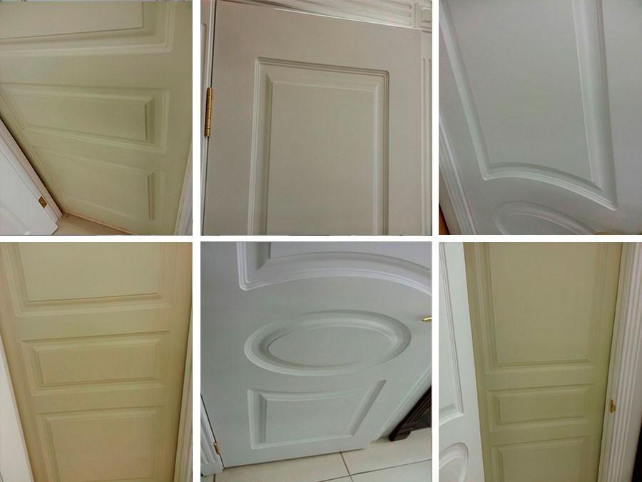 покрашенная дверь резиновой краской супер декор раббер от производителя