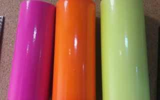 пластиковые трубы покрашены резиновой краской супер декор в разные цвета