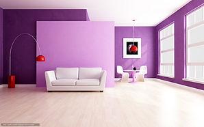 покрашенный бетон интерьерной краской