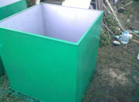 Резиновая краска для покраски бочки или ёмкости с водой.