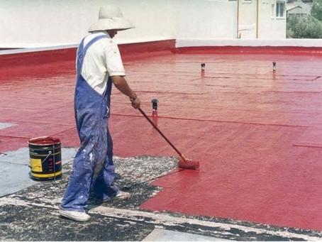 Резиновая краска для наливной кровли