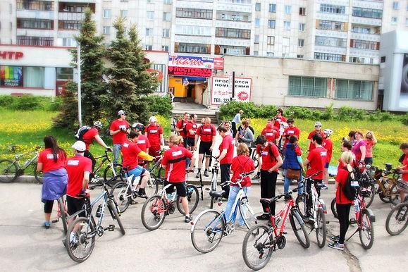 Велоквест, квесты на местности, отличные ребята, организация событий, мероприятия, корпоратив, ведущий, Томск