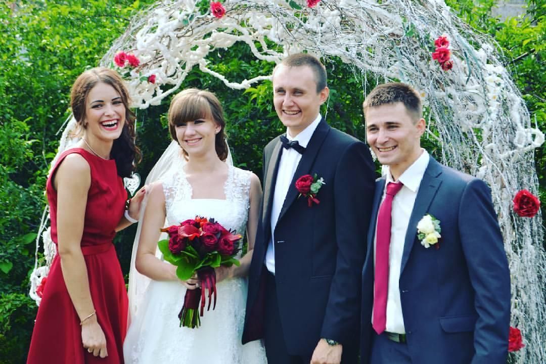 Семья Пушненковых со свидетелями