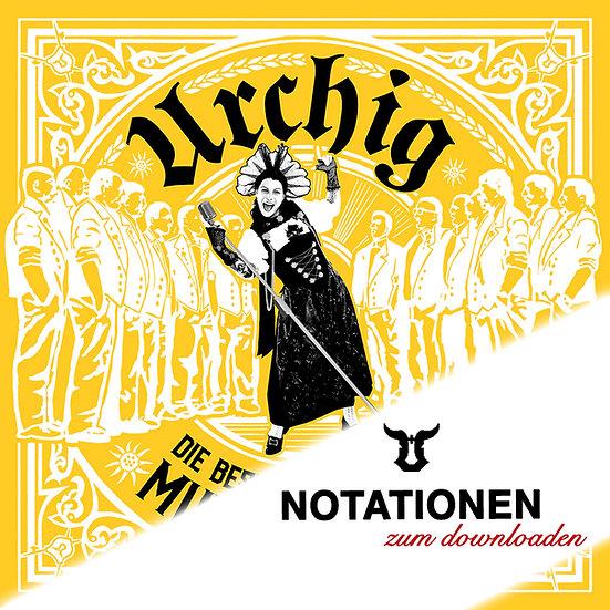 Notationen Urchig- Die grössten Schweizer Hits