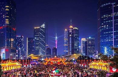 Китайский Новый год в центре Гуанчжоу