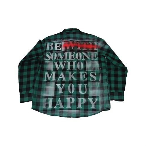 Make Yourself Happy Flannel