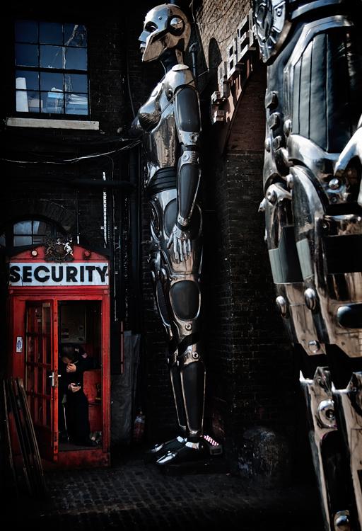 Heavy security