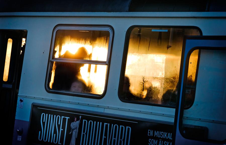 Sunset tram