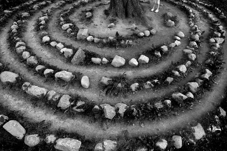 Stone circles and small feet
